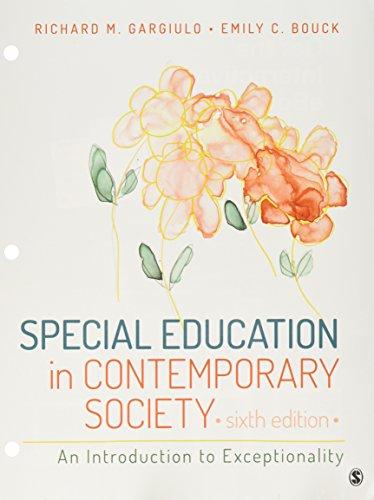 BUNDLE: Gargiulo: Special Education in Contemporary Society 6e (Loose Leaf) + Gargiulo: Special Education in Contemporar