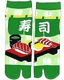 Samurai market Calcetin Tabi Design Sushi