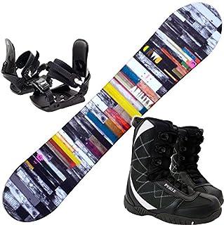 ヘッド(HEAD) スノーボード 3点セット 15-16 ABILITY FLOCKA W 金具付き ブーツ付き