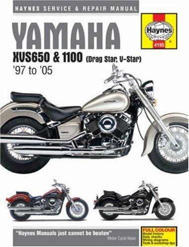 Yamaha XVS650 and 100 Dragstar/V-Star Service and Repair Man