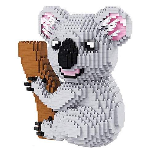 Nanoblock Australian Koala Tiermodell DIY Diamant Mini Bausteine Sets BricksMiniatur Bausteine Altersgruppen
