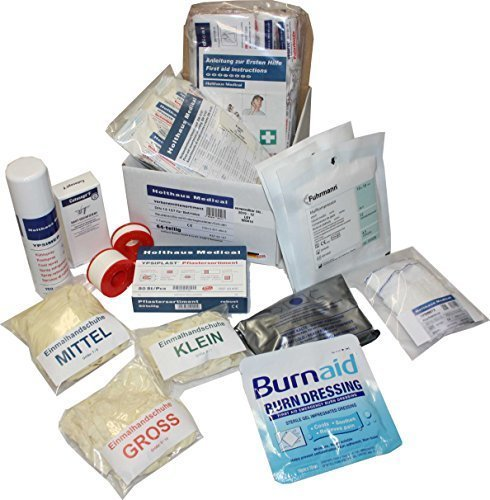 Nachfüllset Erste Hilfe Material für Erste Hilfe Notfallrucksack Sport & Freizeit