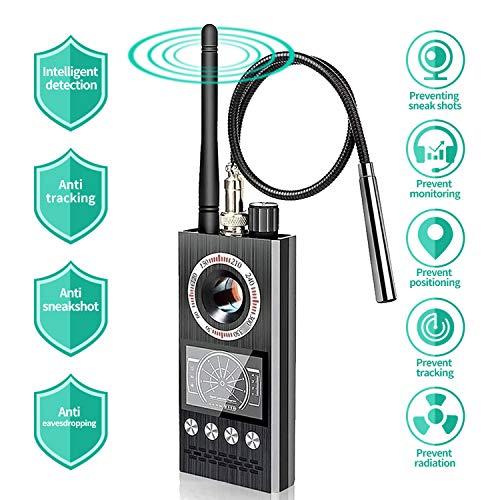 sherry Bug Detector Auto Alarm Anti spy Detector Upgraded Artificial Intelligent rf detectors Hidden Camera Detector Radio Frequency Detector Finder...