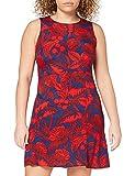 Desigual Vest_wels Vestido, Rojo (BORGOÑA 3007), 38 (Talla del Fabricante: 36) para Mujer