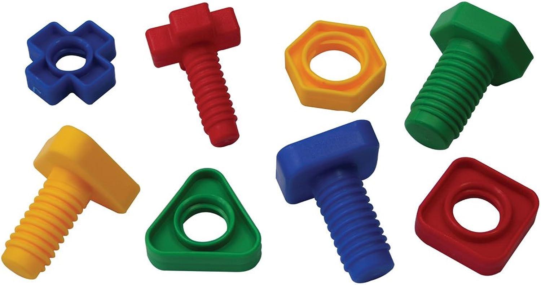 tienda de venta en línea Bigjigs Juguetes educativos de emparejamiento Nuts and Bolts - 128 128 128 Piezas  ordenar ahora