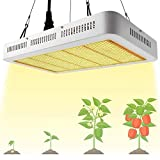 Derlights 1000W Sunlike Led Grow Light, Full Spectrum Grow Lamp with Daisy Chained Design,Plant Grow Lights for Indoor Plants Garden,Flowers Fruits Vegetables Greenhouse Veg and Flower (1683 LEDs)