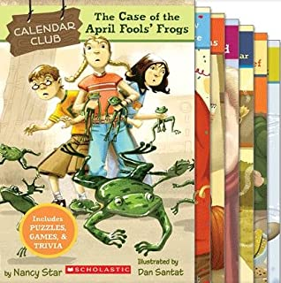 Calendar Club Mysteries Set of 8 Paperback Books (Each Book Includes Puzzles, Games, and Trivia) (Calendar Club, Includes: The Case of the Missing Pumpkins, The Case of the Thanksgiving Thief, Mystery of the Snow Day Bigfoot, The Case of the Kidnapped Cupid, The Case of the Back-to-School Burglar, The Case of the New Year's Eve Nightmare, The Case of the April Fool's Frogs, and The Case of the Sneaky Strangers)