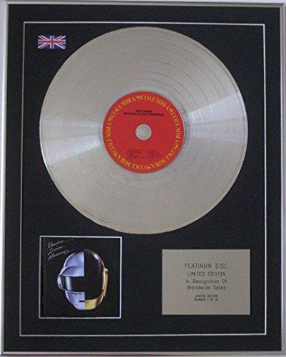 Century Music Awards Daft Punk–Limited Edition CD Platinum Disc–random Access Memories