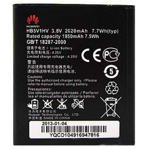Huawei Batteria Pila Ricambio Originale HB5V1HV agli ioni di litio per Huawei ASCEND W1 ASCEND Y300 ASCEND Y511 in Bulk