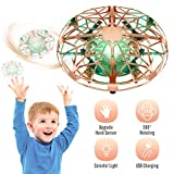 Popular Toys for Kids Age 4-12, Tesoky Kids Drones Stocking Fillers for 4-12 Year Old Boys Hand Operated Drones for Kids Christmas Xmas Gifts for 5-12 Year Old Kids Boys Girls-Gold