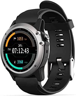 Smart Health Watch with Blood Pressure HRV Monitor GPS Tracking,Sports Fitness Tracker GPS Running Without Smartphone APP for Men