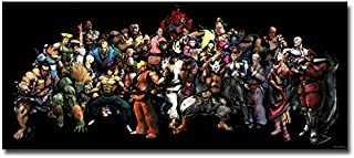 Lawrence Painting Street Fighter V Art Canvas Poster Print 13X3 24X56 Chun Li Ryu Game Pictures For Living Room Decor Sf 62