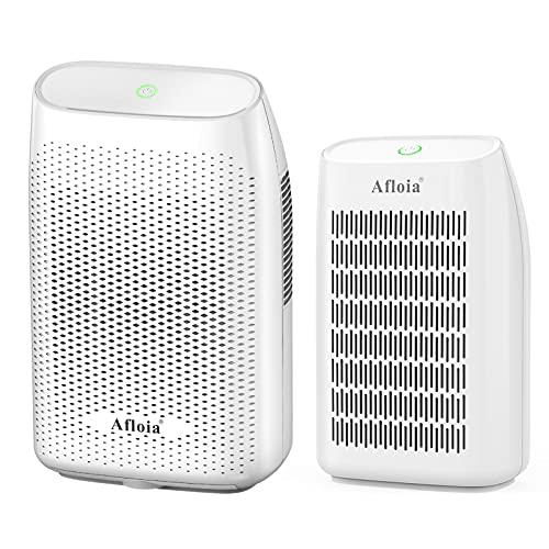 Afloia 2000ml Dehumidifier White and Small Portable Dehumidifier