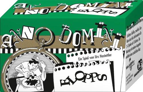 ABACUSSPIELE 09012 - Anno Domini - Flopps, Quizspiel, Schätzspiel, Kartenspiel