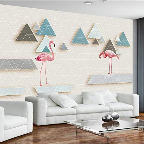 Dalxsh aangepaste driedimensionale geometrisch patroon ruimte 3D foto behang voor woonkamer tv achtergrond muurbehang 150x120cm