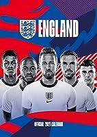 England Men Football 2021 Calendar - Official A3 Wall Format Calendar