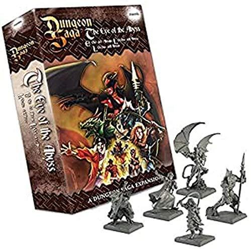 Dungeon Saga - El Ojo del Abiso (Edición Inglés) 78589