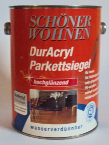 2,5 Liter Schöner Wohnen DurAcryl Parkettsiegel, Hochglänzend