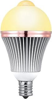 LED電球人感センサーライトE17口金小型電球センサー電球50W形相当2700k650lm電球色明るい消し忘れ防止自動点灯消灯省エネ防犯玄関階段廊下洗面所室内日本語取扱付属1年保証OUAMEI (E17...