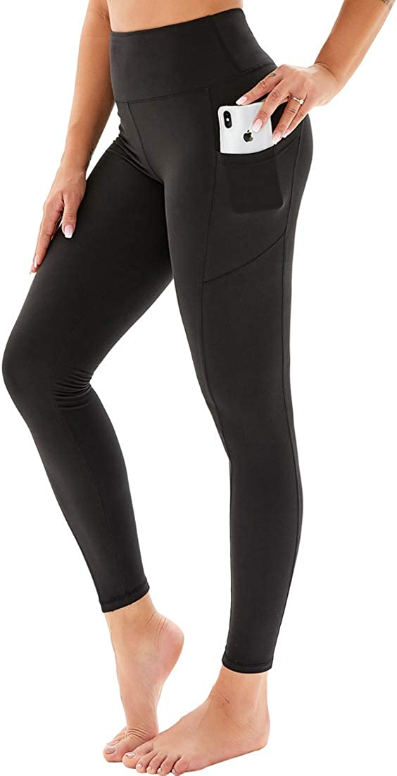 HIGHDAYS Printed Yoga Pants for Women with Waiste Pockets High New Direct store Shipping Free -