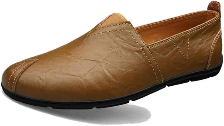 ZLLNSPX Mens Peas shoes Casual shoes Fashion Lazy shoes