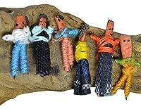トラブルドール ウォーリードール6箱セット お守り 護符 悩み 解決おまじないWorry Dolls しんぱいひきうけにんぎょう, びくびくビリー【国内Free】 木箱タイプtroubledollbox