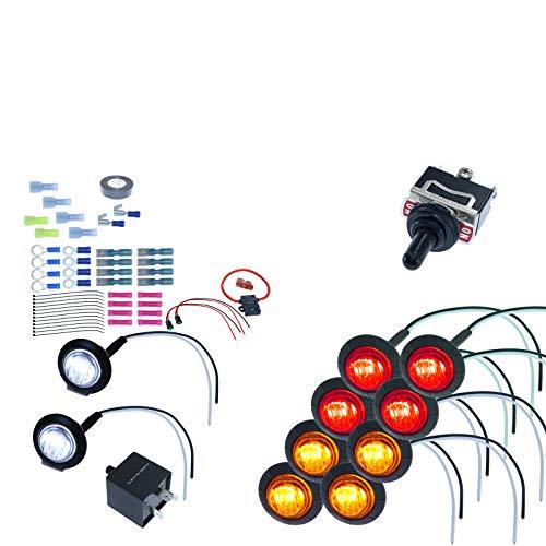 MCSADVENTURES ATV/UTV SXS Turn Signal DIY Street Legal Kit