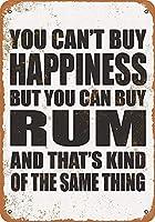 ラム酒を購入 メタルポスタレトロなポスタ安全標識壁パネル ティンサイン注意看板壁掛けプレート警告サイン絵図ショップ食料品ショッピングモールパーキングバークラブカフェレストラントイレ公共の場ギフト