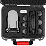 SYMIK P250-MM Waterproof Hard Case for DJI Mavic Mini/Fly More Combo (NOT for Mavic Mini 2), Professional Grade Carrying Case Made of PP Plastic Alloy, with Military Grade Super Protection