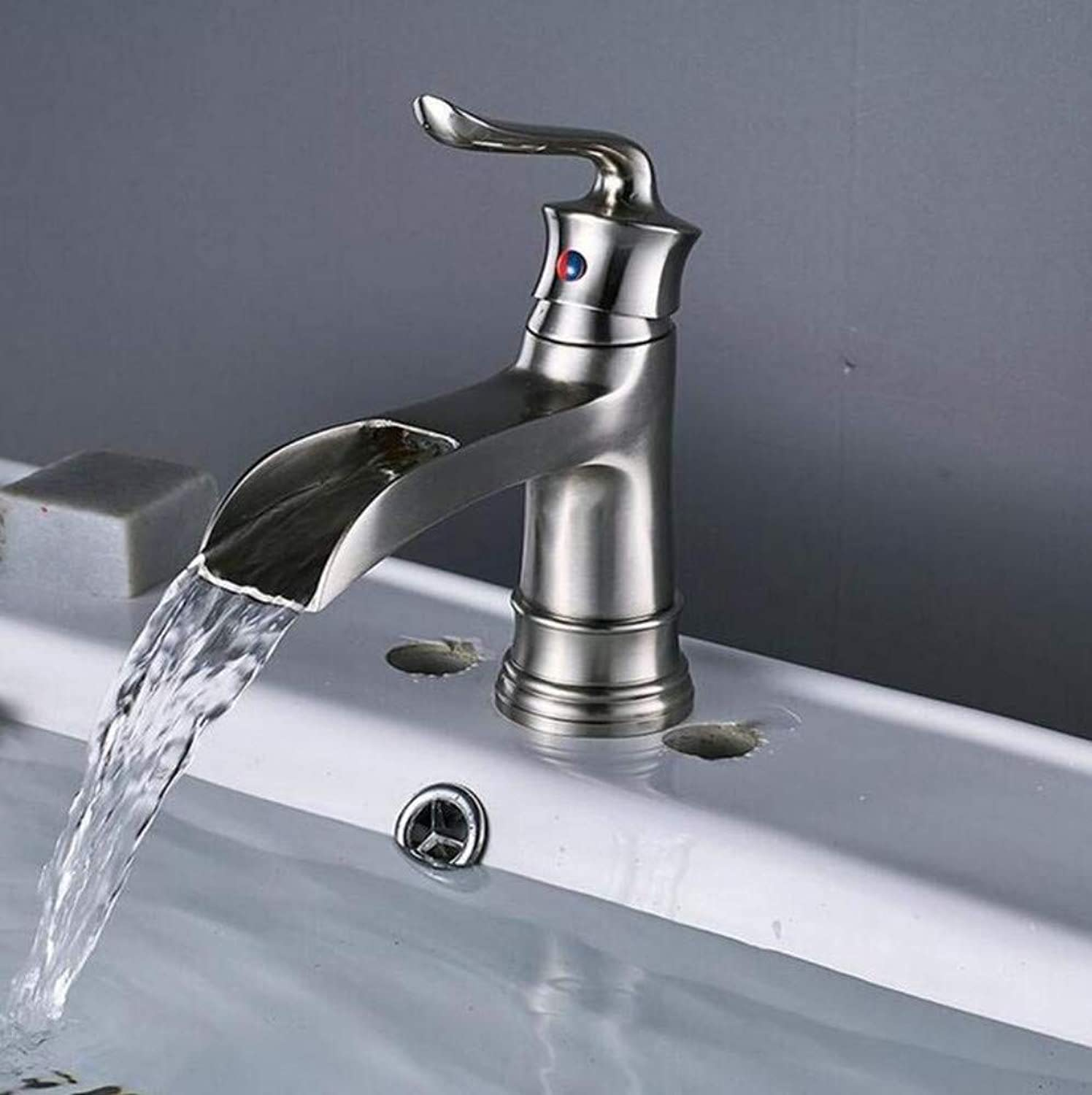 Brass Wall Faucet Chrome Brass Faucethot and Cold Water Mixer Faucet Without Cover 2 Available
