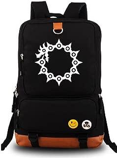 Anime Cosplay Luminous Canvas Daypack Rucksack Backpack School Bag