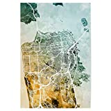 artboxONE Poster 60x40 cm Städte/San Francisco San