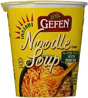 Gefen No Msg Instant Noodle Soup, Chicken Flavor, 12 Count