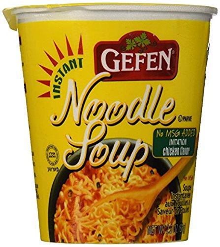 Gefen Instant Noodle Soup, Chicken Flavour, No MSG (12 Pack)