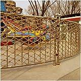Red de Protección de Escaleras Red de Seguridad para Niños,Cuerda de Cáñamo Decoración de Red Balcón Ventana Barrera Litera Photo Wall,Red de Cuerda de Decoración de Techo(Size:4*6M(13*20ft))