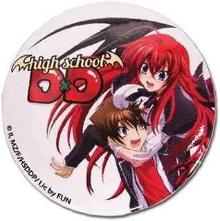 Great Eastern Divertissement High School DXD Termes Désignant Les Émigrés Japonais et Ria Button, 3,2 cm