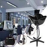 Samger Samger Portable Altezza regolabile Shampoo Basin Wash Hair Bowl Strumento di tratta...
