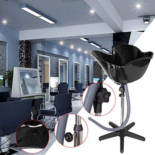 Samger Portable Hauteur Réglable Bassin De Lavage Laver Bol De Cheveux De Coiffure Salon Traitement Outil