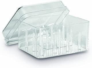 Gutermann - Caja para 12 bobinas de Hilo (acrílico), Transparente
