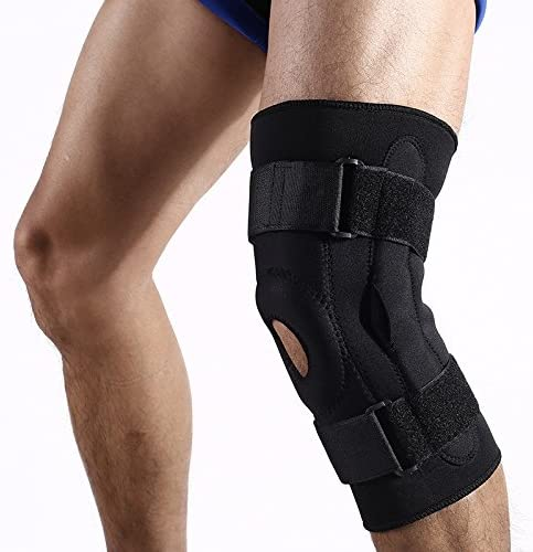 QLIGHA Knee Brace Double Aluminum Support Ranking TOP19 Plate S Outdoor Velcro Indefinitely