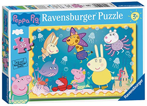 Peppa Pig Ravensburger 5062 Underwater Adventure 35pc Puzzle