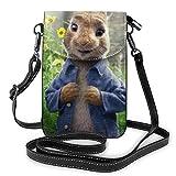 Peter Rabbit - Bolsas de piel para teléfono celular (ligera, con ranuras para tarjetas de crédito)