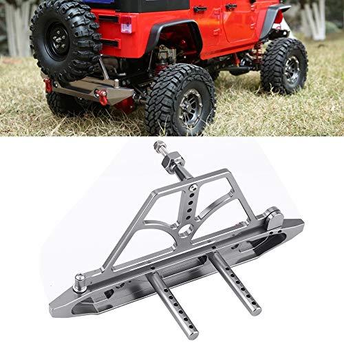 Metallstoßstange, Titan Front RC Stoßstange, für Axial SCX10 SCX10 II MST RC Auto für Front & Heck Stoßstange