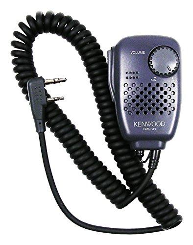 Kenwood SMC-34 Lautsprechermikrofon mit Lautstärkeregler für Funkgeräte