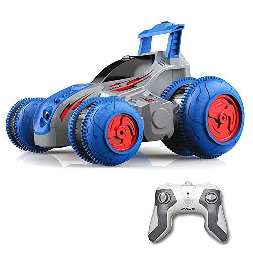 Binghai Juguete eléctrico para coche con control remoto con giros de 360 ° y baterías recargables para niños