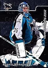 (CI) Evgeni Nabokov Hockey Card 2001-02 BAP Signature Series (base) 24 Evgeni Nabokov