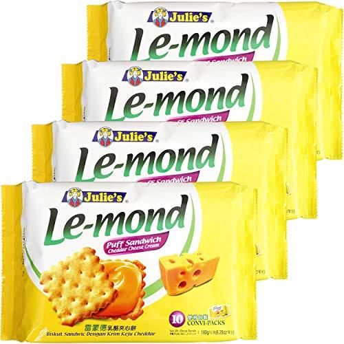 ジュリーズ ル・モンド チェダーチーズクリームサンド 180g ×4個