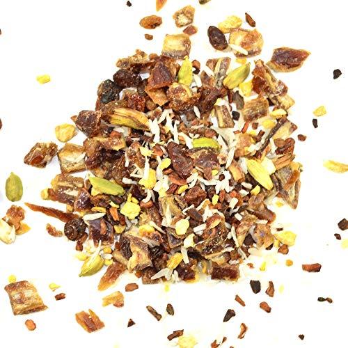 Bio Datteltee Dattel Tee ayurvedische Pitta Mischung ✔ Tea Chay Chai lose ✔ Teemischung ✔ ohne Zusatzstoffe, Aromastoffe & Konservierungsstoffe, 100g