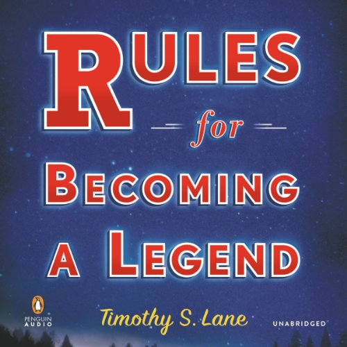 Rules for Becoming a Legend audiobook cover art