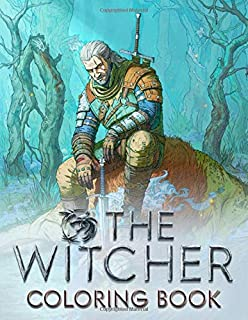 The Witcher Coloring Book